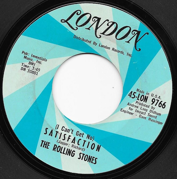 (I Can't Get No) Satisfaction / The Under Assistant West Coast Promotion Man