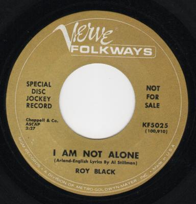 I Need You / I Am Not Alone