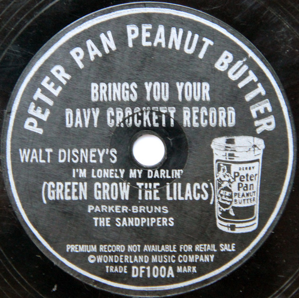 Peter Pan Peanut Butter Brings You Your Davy Crockett Record