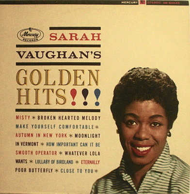 Sarah Vaughn's Golden Hits