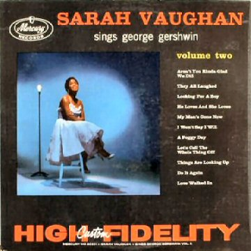 Sarah Vaughn Sings George Gershwin Vol. II
