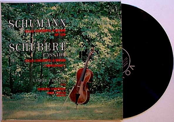 Schumann/Schubert Cello Concertos