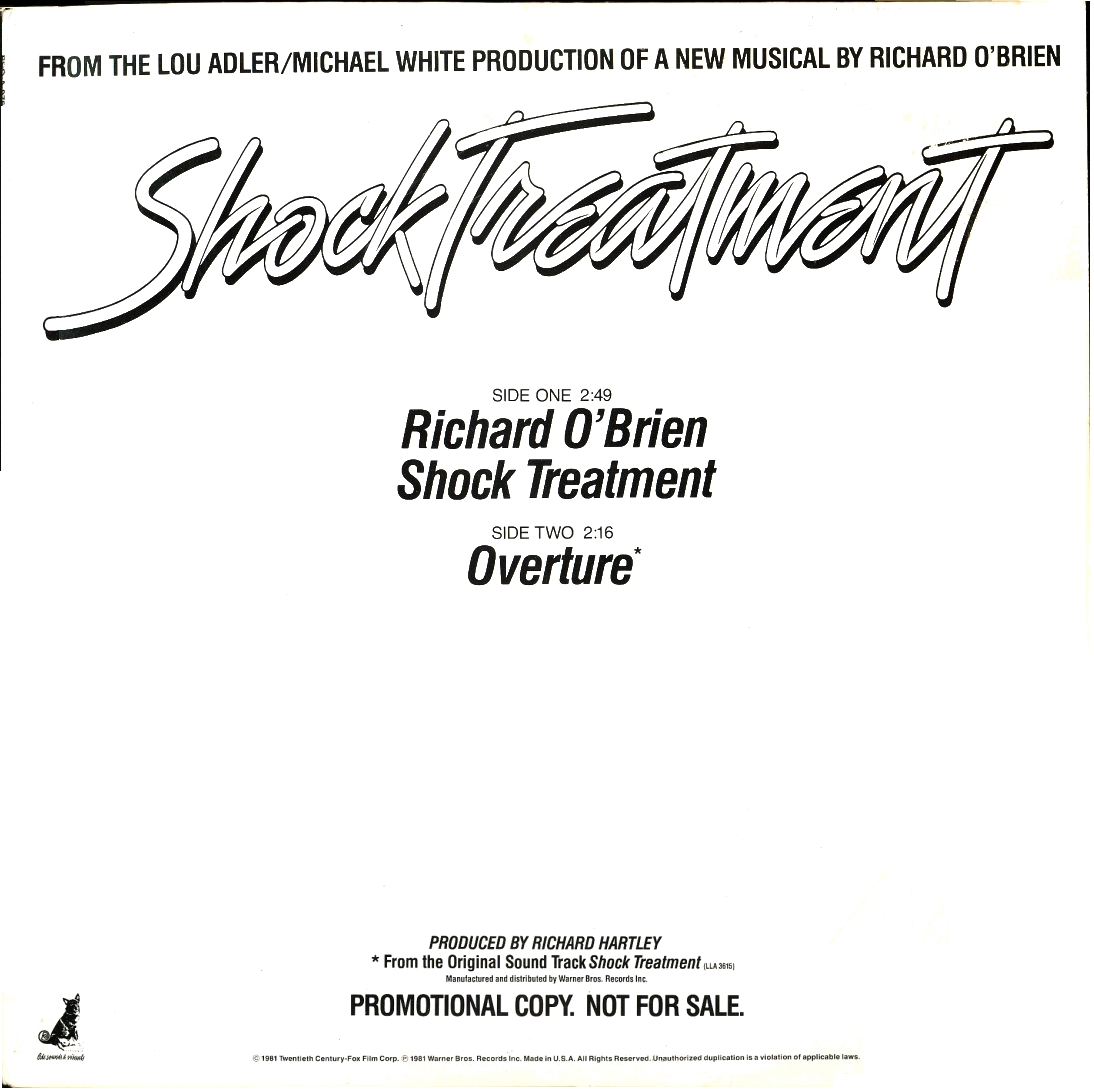 Shock Treatment / Overture