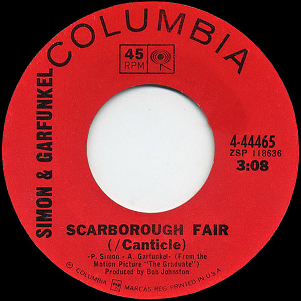 Scarborough Fair (/ Canticle) April Come She Will