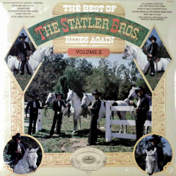 The Best Of The Statler Brothers Rides Again Volume 2
