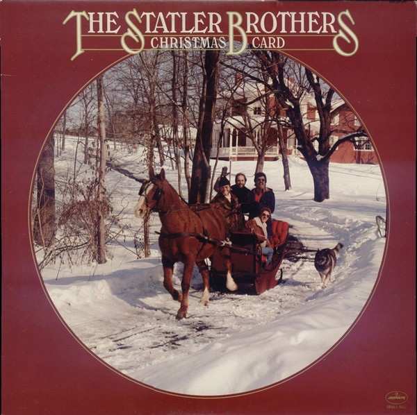 The Statler Brothers Christmas Card