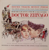 Sound Track Music From Doctor Zhivago