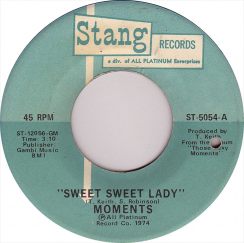 Sweet Sweet Lady / The Next Time I See You