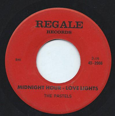 Midnight Hour - Love Lights / It's So Easy