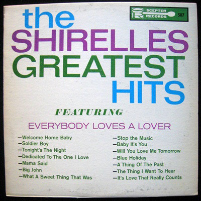 The Shirelles Greatest Hits