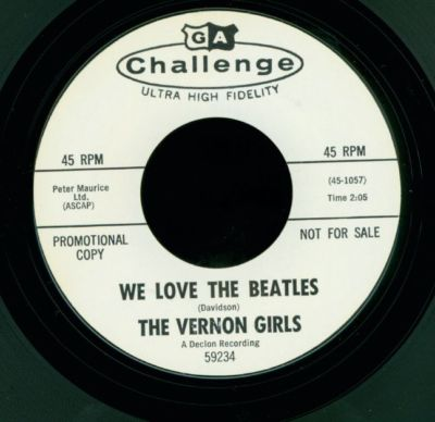 We Love The Beatles/Hey Lover Boy