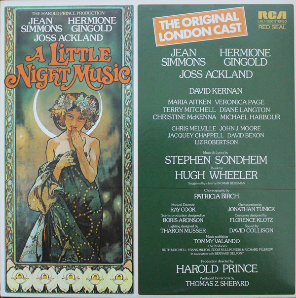 A Little Night Music (Original London Cast)