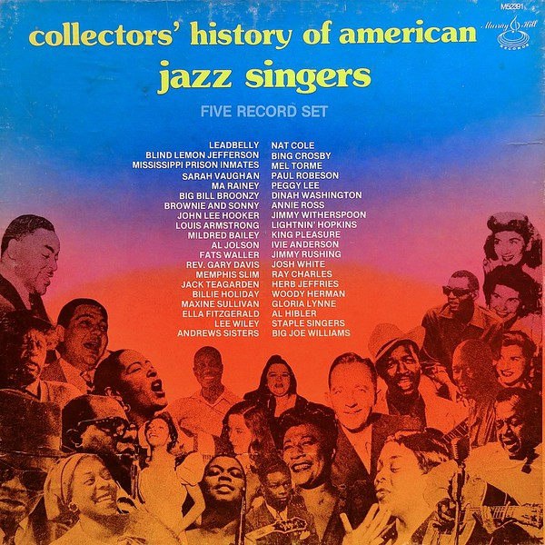 Collectors' History Of American Jazz Singers