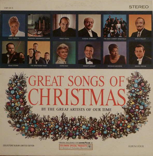 Great Songs Of Christmas (By The Great Artists Of Our Time)