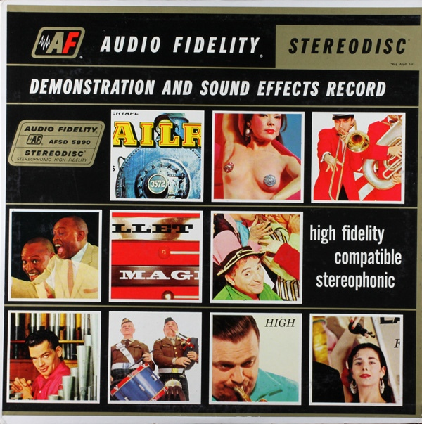 Stereophonic Demonstration And Sound Effects