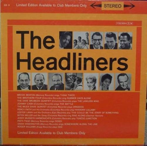 The Headliners Volume 2