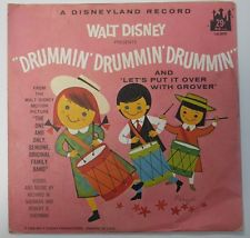 Drummin' Drummin' Drummin' / Let's Put It Over w Grover