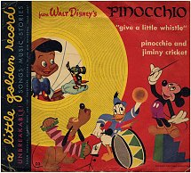 Give a Little Whistle / Pinocchio and Jiminy Cricket