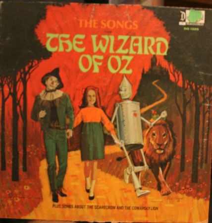 Songs from the Wizard of Oz/The Cowardly Lion of Oz