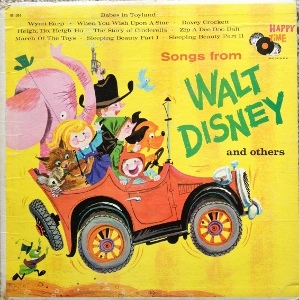 Songs from Walt Disney