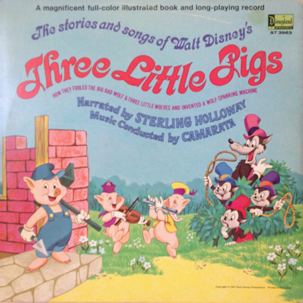 Story and Song About Walt Disney's Three Little Pigs
