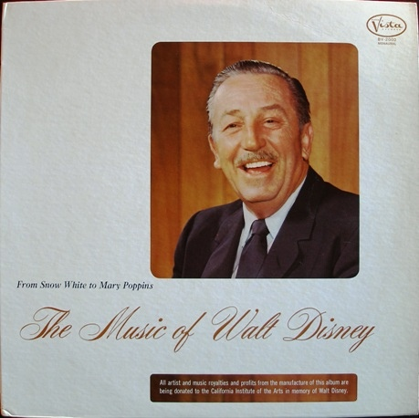 The Music of Walt Disney: From Snow White to Mary Poppins