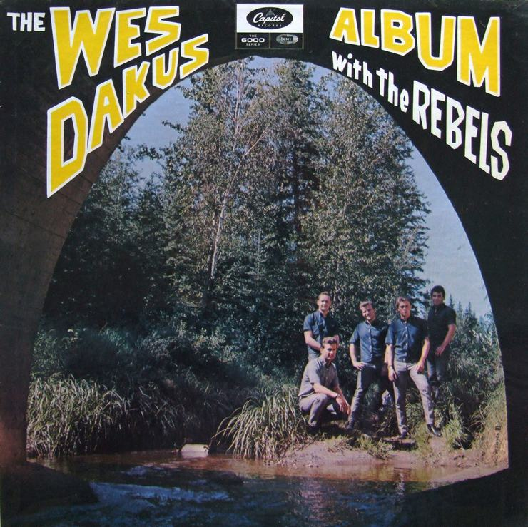 The Wes Dakus Album With The Rebels