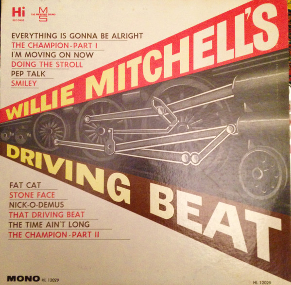 Willie Mitchell's Driving Beat